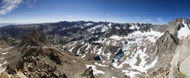 panorama wysoki sierra Obrazy Stock