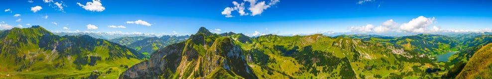 panorama wysokogórska Zdjęcia Royalty Free