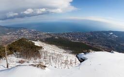 Panorama of Yalta Royalty Free Stock Image