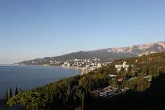 Panorama Yalty.Krym stockfotografie