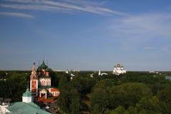 Panorama of Yaroslavl. Russia Royalty Free Stock Photo
