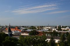 Panorama of Yaroslavl. Russia Royalty Free Stock Image