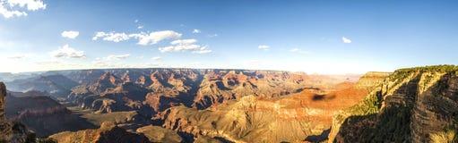 Panorama: Yavapai View Point - Grand Canyon, South Rim, Arizona, AZ Royalty Free Stock Photos