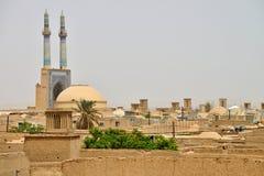Panorama Yazd Fotografia Royalty Free