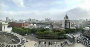 Panorama in Yinchuan in China stock afbeelding