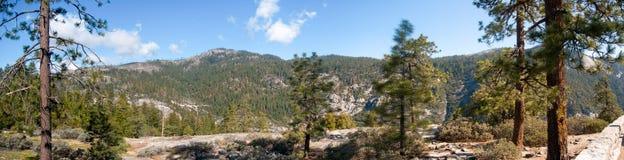 Panorama in Yosemite Royalty Free Stock Photo