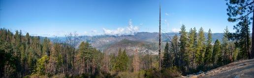 Panorama in Yosemite Stock Images