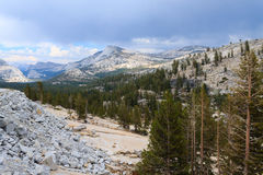 Panorama from Yosemite National Park Royalty Free Stock Photo