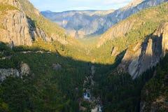 Panorama of the Yosemite Valley Royalty Free Stock Photos