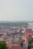 panorama z budapesztu Zdjęcia Royalty Free
