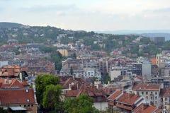 panorama z budapesztu Obrazy Stock