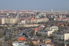 panorama z budapesztu obraz stock