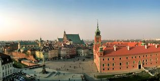 panorama zamku square zdjęcie royalty free
