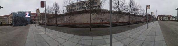 Panorama ZKM muzealny Karlsruhe, Niemcy obrazy stock