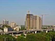 Panorama zu Rostow-Stadt Lizenzfreies Stockbild