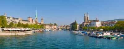 panorama Zurich Image stock