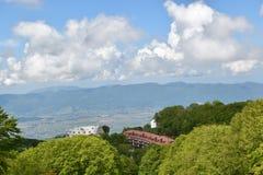 Panoramaansicht vom Berg Lizenzfreies Stockbild