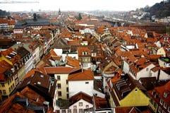 Panoramaansicht von Heidelberg Lizenzfreie Stockfotografie