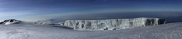 Panoramaansicht von Mt. Kilimanjaro. Stockfotografie