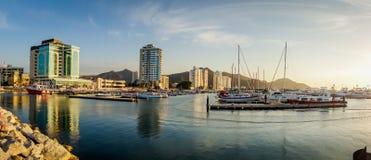 Panoramaansicht von Santa Marta, Kolumbien Stockfotos