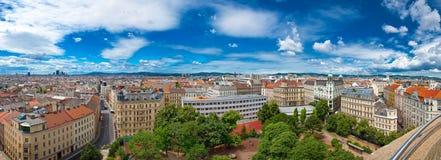 Panoramaansicht von Wien Stockfotografie