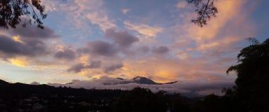 Panoramaavila berg Caracas Venezuela Stock Fotografie