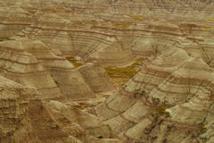 PanoramaBadlands nationalpark, South Dakota, USA arkivbild