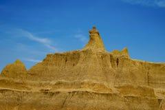 PanoramaBadlands nationalpark, South Dakota, USA royaltyfria foton