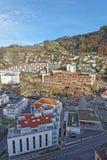 Panoramablick auf dem Krankenhaus der Thun-Stadt Stockfoto