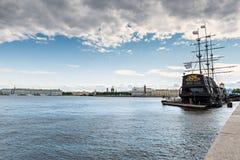 Panoramablick auf historischer Mitte von Sankt Petersburg Stockfotografie