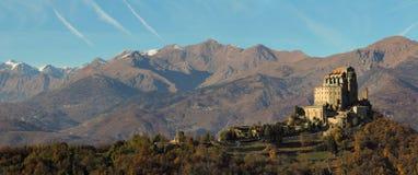 Panoramablick des Heiligen Michael Abbey Lizenzfreie Stockfotos