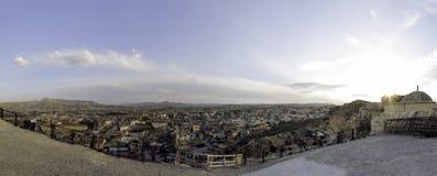 Panoramablick des Kappadokia Lizenzfreie Stockbilder