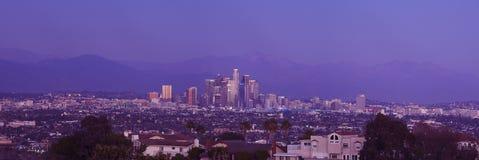 Panoramablick des LA lizenzfreies stockbild