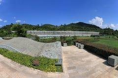 Panoramablick des Yuxi-Garten-botanischen Gartens, einer von den größten in Yuxi Lizenzfreies Stockfoto