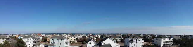 Panoramablick eines Teils von Corolla Lizenzfreies Stockfoto