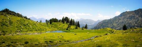 Panoramablick im Berg Lizenzfreie Stockfotografie