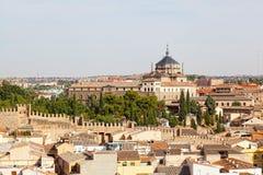 Panoramablick nach Toledo Lizenzfreies Stockfoto