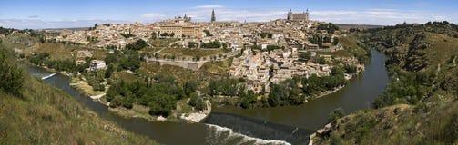 Panoramablick nach Toledo Stockfotografie