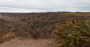 Panoramablick Nationalparks Black Hills stockfotografie