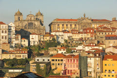 Panoramablick. Porto. Portugal stockfotografie