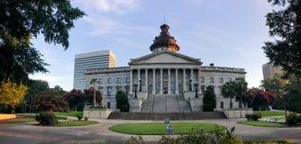 Panoramablick Süd-Carolina State Houses in Kolumbien Lizenzfreie Stockfotografie