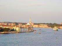 Panoramablick, Venedig lizenzfreie stockfotografie