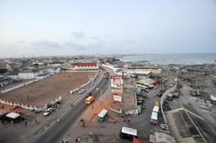 Panoramablick von Accra, Ghana Stockfoto