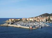 Panoramablick von Ajaccio Stockfoto