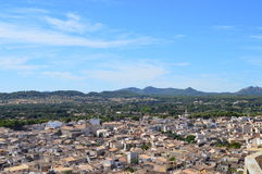 Panoramablick von Arta Mallorca Lizenzfreie Stockbilder