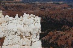 Panoramablick von Bryce Canyon (Utah, USA/am 30. März 2013) Lizenzfreie Stockfotografie