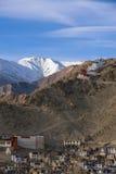 Panoramablick von Ladakh Stockfotos