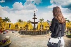 Panoramablick von Lima stockfotos