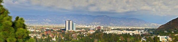 Los angelt Stadt-Panoramablick Lizenzfreies Stockfoto