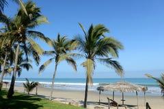 Panoramablick von Mancora, Peru Stockbilder